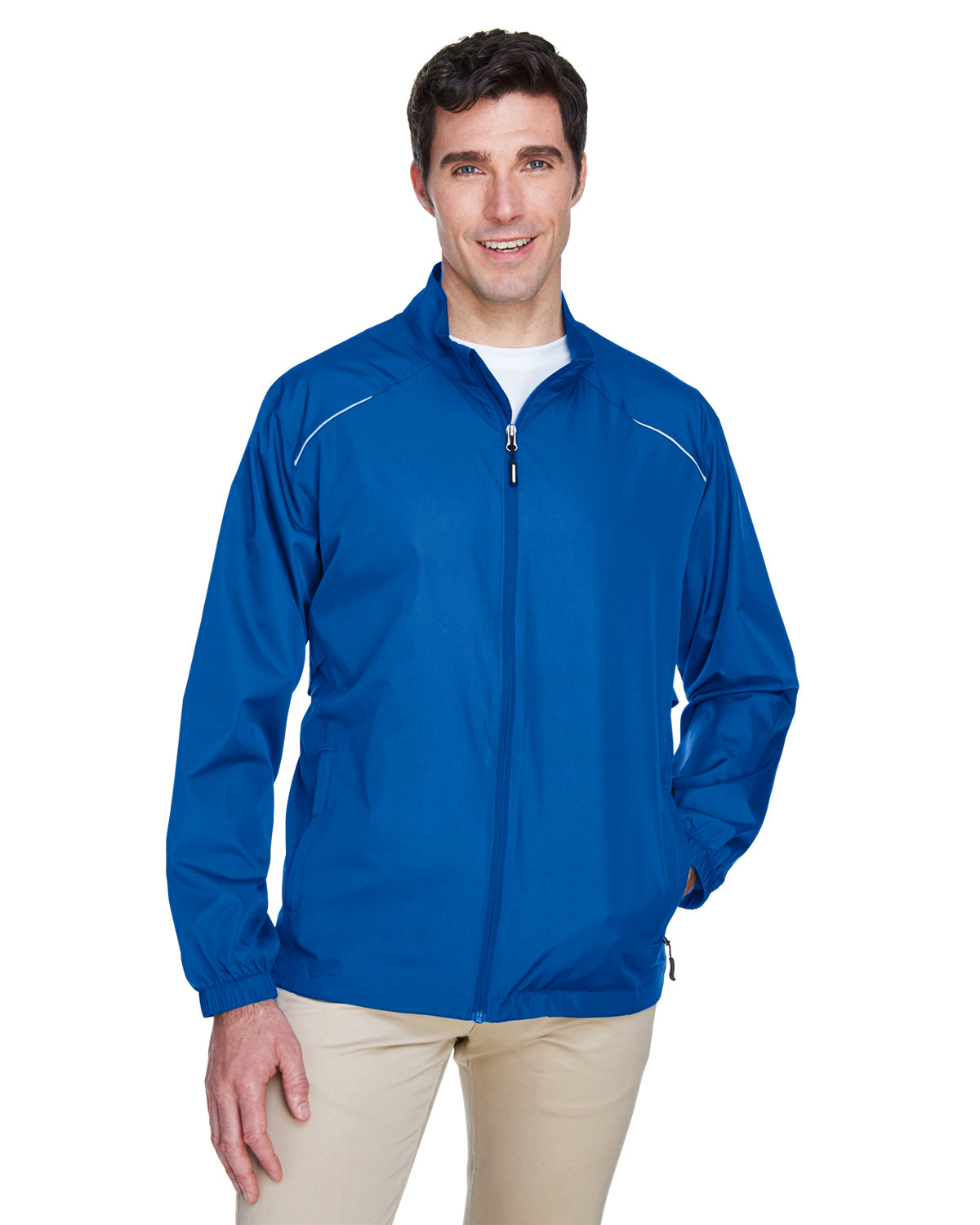 Core 365 Men's Motivate Unlined Lightweight Jacket TRUE ROYAL