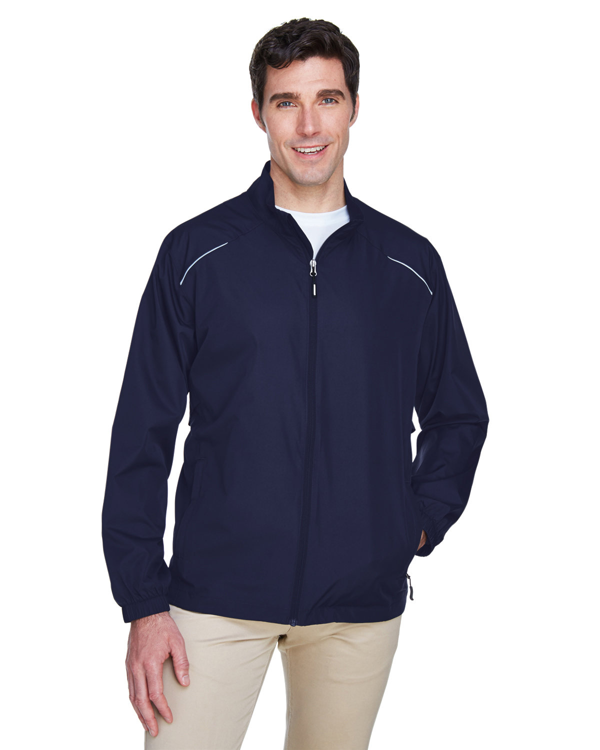 Core 365 Men's Motivate Unlined Lightweight Jacket CLASSIC NAVY