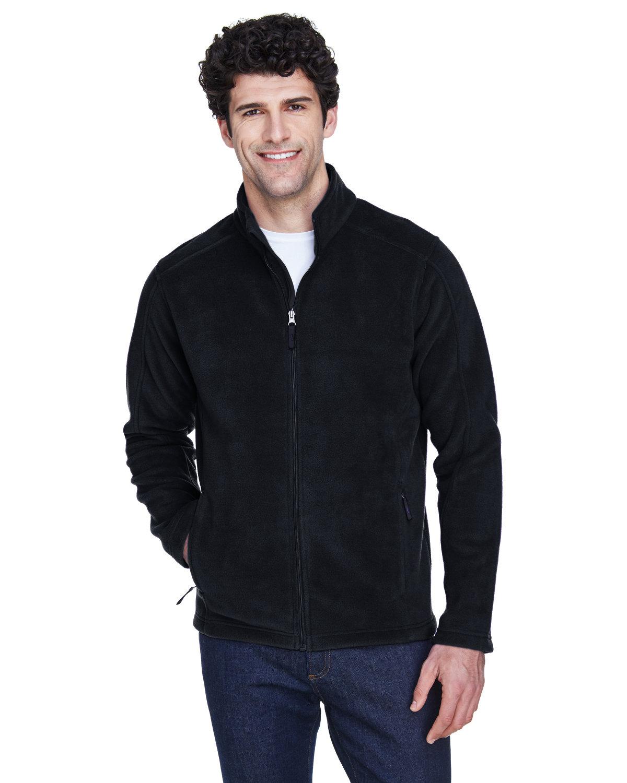 Core 365 Men's Tall Journey Fleece Jacket BLACK
