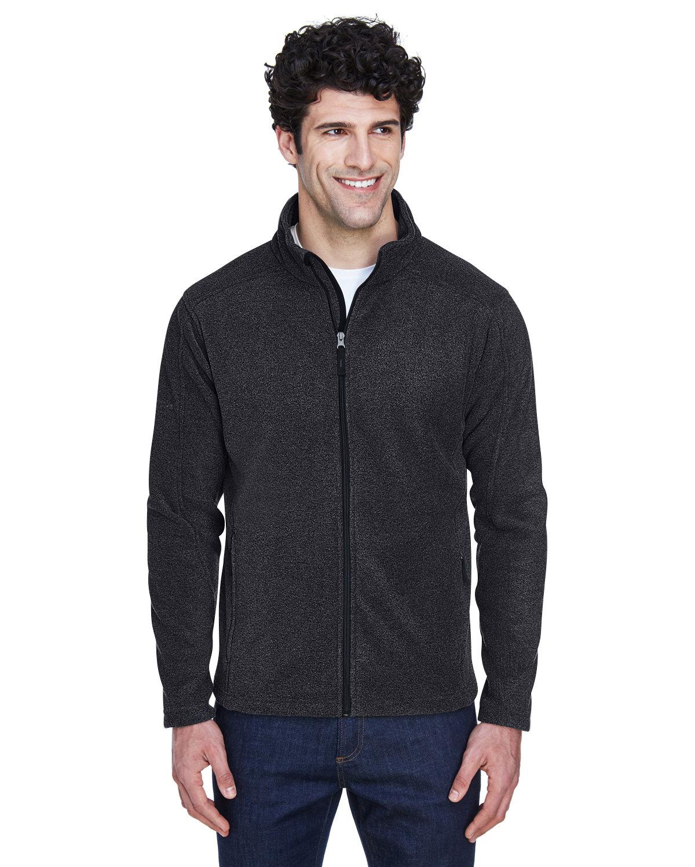Core 365 Men's Tall Journey Fleece Jacket HEATHER CHARCOAL