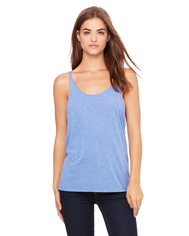 Bella + Canvas Ladies' Slouchy Tank BLUE TRIBLEND
