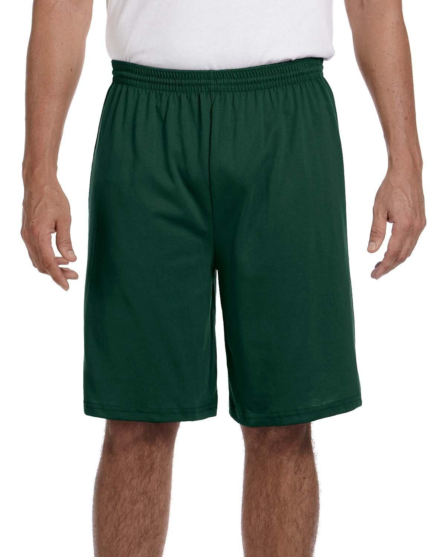 Augusta Sportswear Adult Longer-Length Jersey Short DARK GREEN