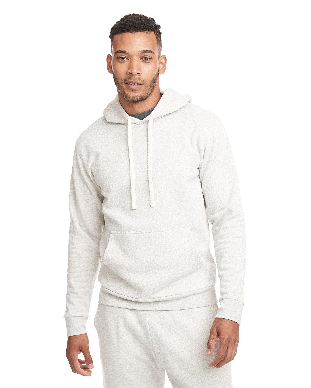 Next Level Unisex Malibu Pullover Hooded Sweatshirt OATMEAL