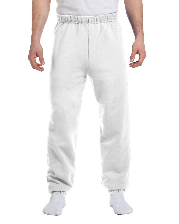 Jerzees Adult NuBlend® Fleece Sweatpants WHITE