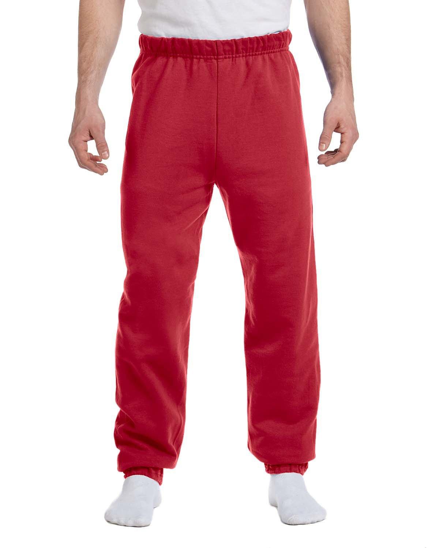 Jerzees Adult NuBlend® Fleece Sweatpants TRUE RED