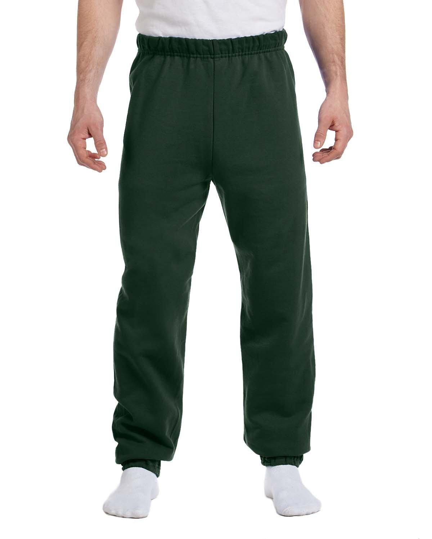 Jerzees Adult NuBlend® Fleece Sweatpants FOREST GREEN