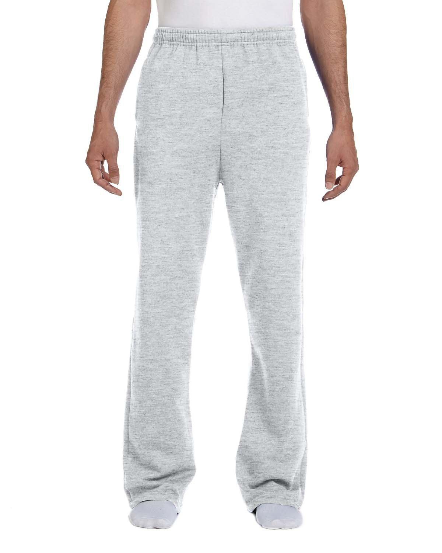Jerzees Adult NuBlend® Open-Bottom Fleece Sweatpants ASH