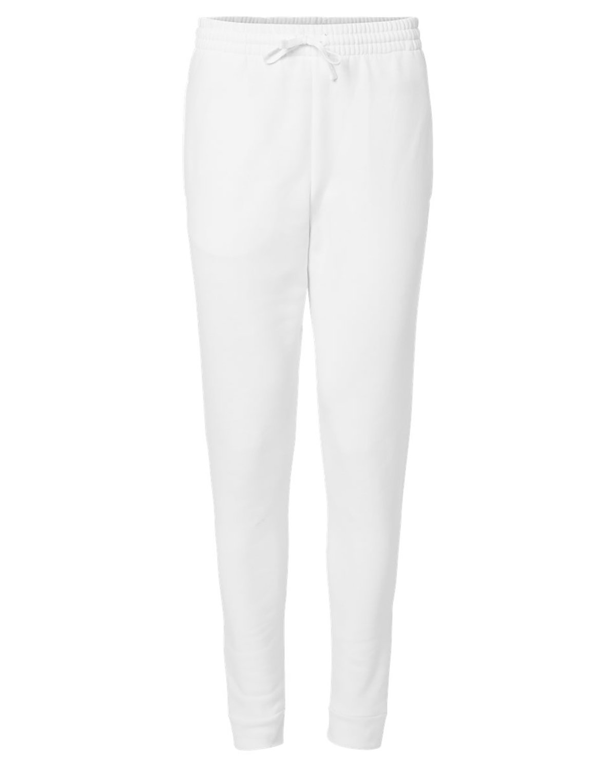 Jerzees Adult Nublend® Jogger WHITE/ WHITE
