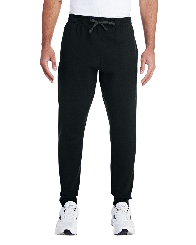Jerzees Adult Nublend® Jogger BLACK/ CHRCL GRY