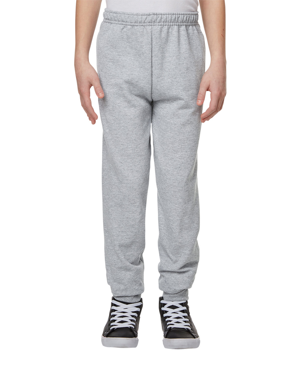 Jerzees Youth Nublend® Youth Fleece Jogger ATHLETIC HEATHER