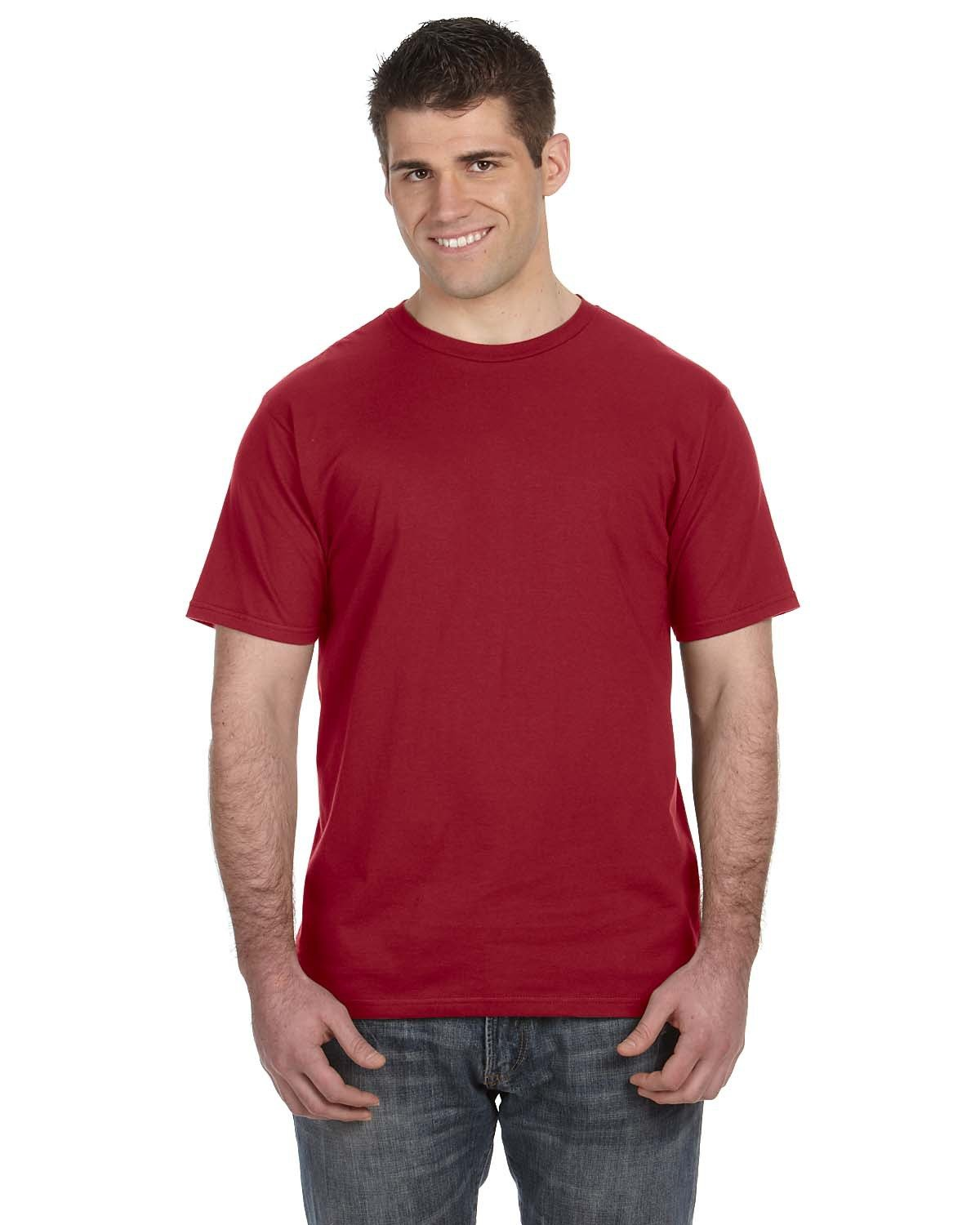 Anvil Lightweight T-Shirt INDEPENDENCE RED