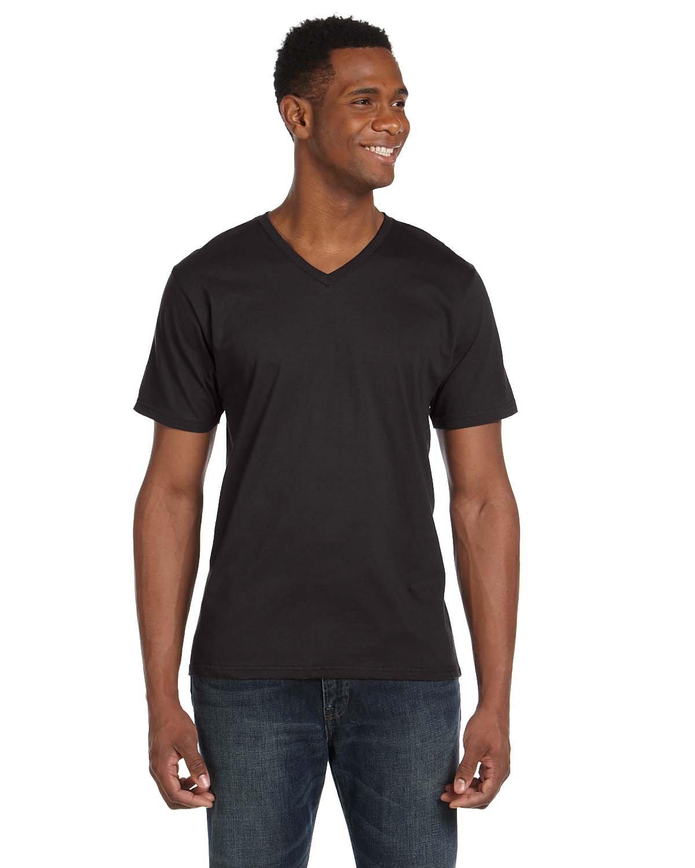 Anvil Adult Lightweight V-Neck T-Shirt SMOKE