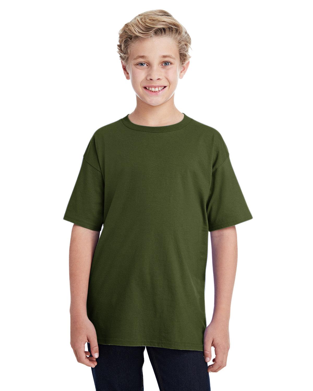 Anvil Youth Lightweight T-Shirt CITY GREEN