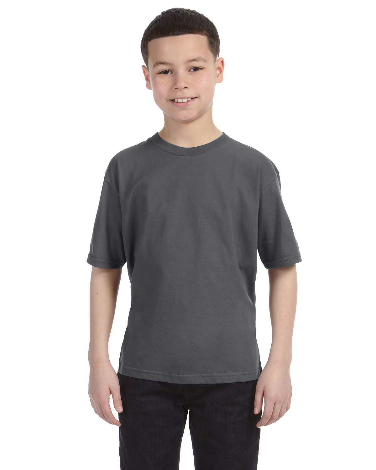 Anvil Youth Lightweight T-Shirt CHARCOAL