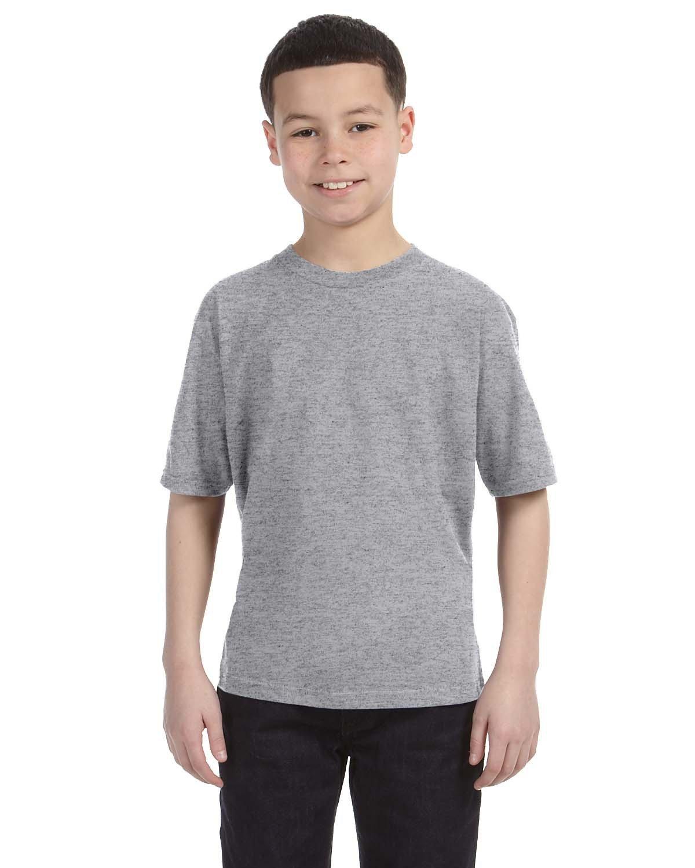 Anvil Youth Lightweight T-Shirt HEATHER GREY