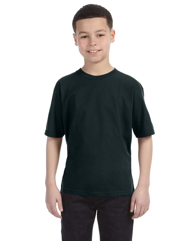 Anvil Youth Lightweight T-Shirt BLACK