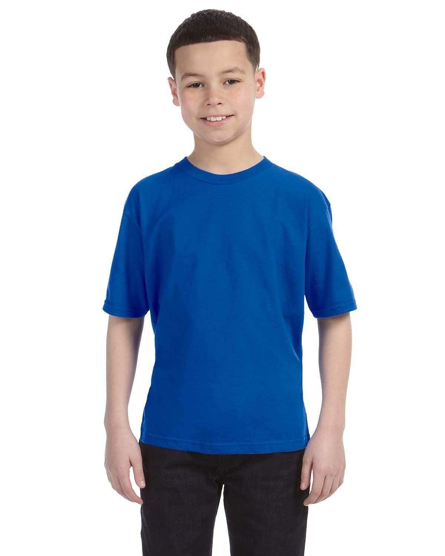 Anvil Youth Lightweight T-Shirt ROYAL BLUE