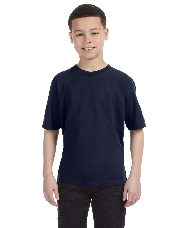 Anvil Youth Lightweight T-Shirt NAVY