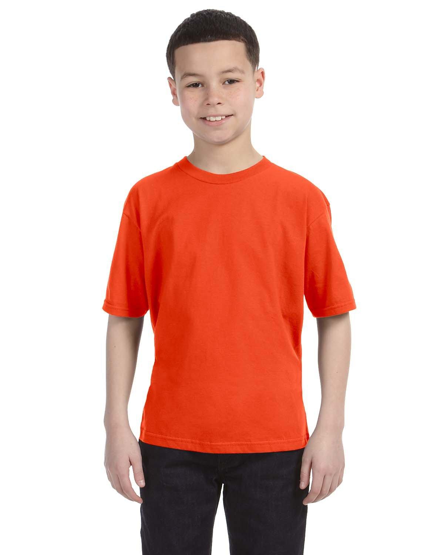 Anvil Youth Lightweight T-Shirt ORANGE
