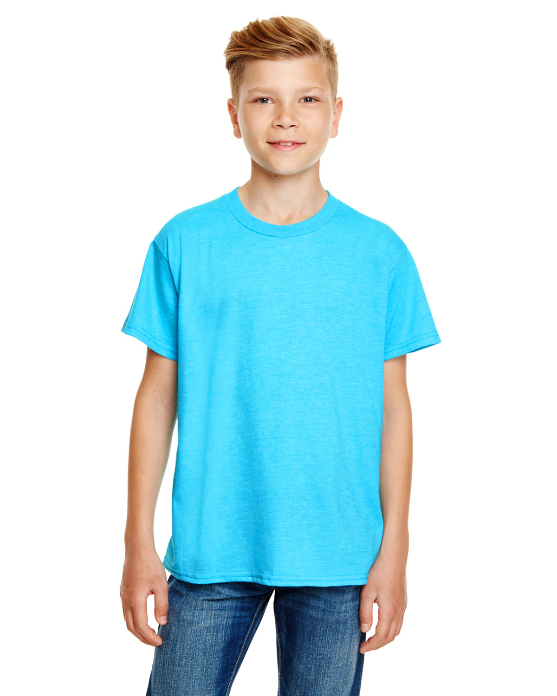 Anvil Youth Lightweight T-Shirt CARIBBEAN BLUE