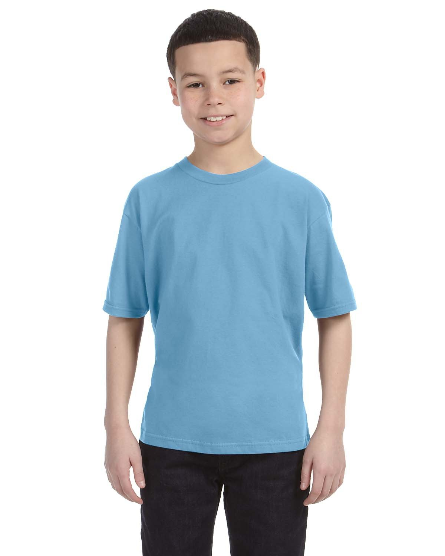 Anvil Youth Lightweight T-Shirt LIGHT BLUE