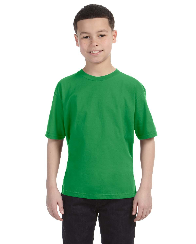 Anvil Youth Lightweight T-Shirt GREEN APPLE