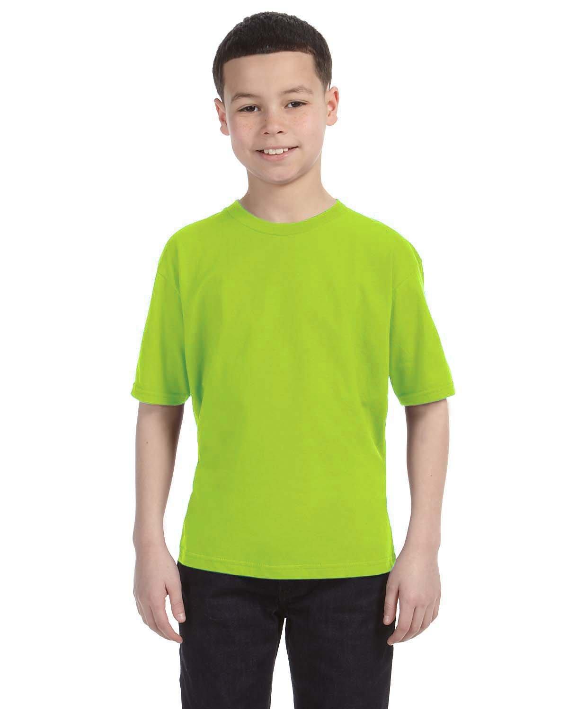 Anvil Youth Lightweight T-Shirt NEON GREEN
