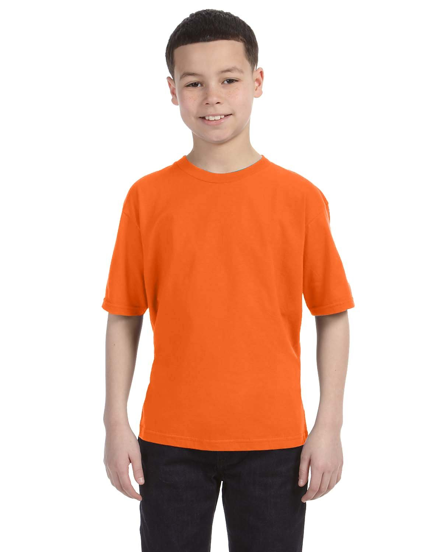 Anvil Youth Lightweight T-Shirt NEON ORANGE