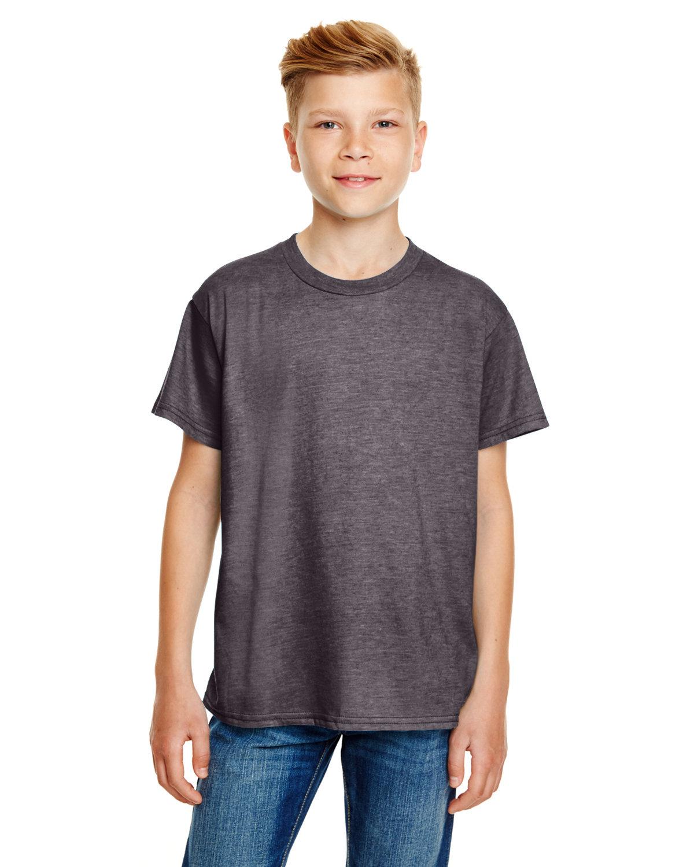 Anvil Youth Lightweight T-Shirt HEATHER GRAPHITE