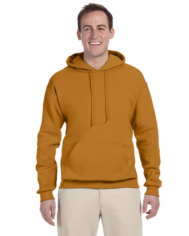 Jerzees Adult NuBlend® FleecePullover Hooded Sweatshirt GOLDEN PECAN