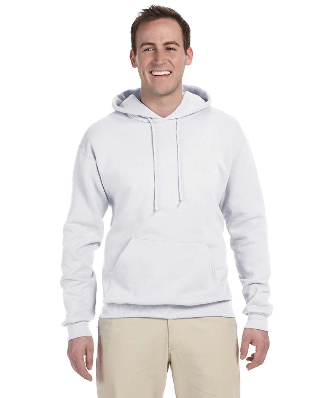 Jerzees Men's Tall NuBlend® Hooded Sweatshirt WHITE