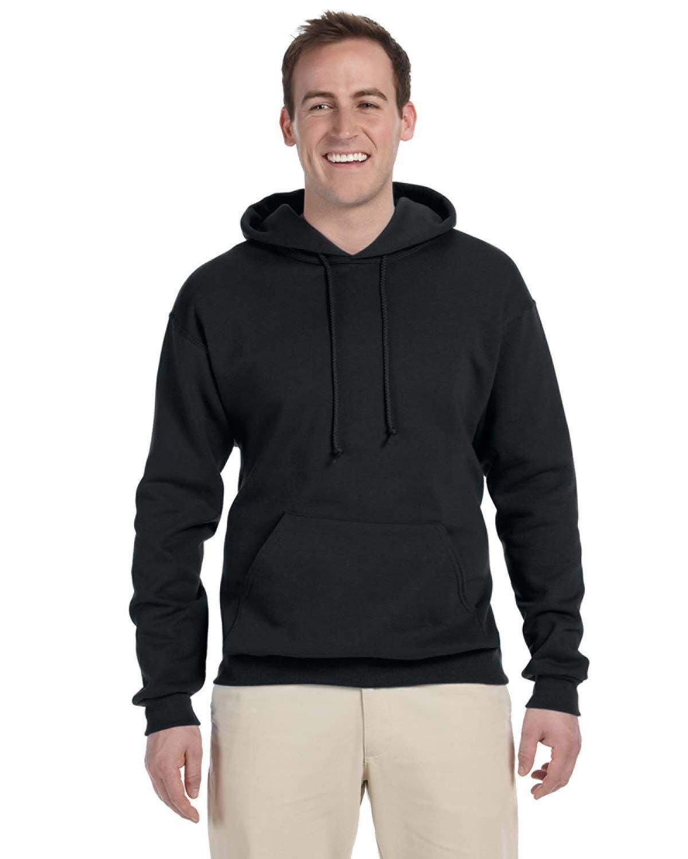 Jerzees Men's Tall NuBlend® Hooded Sweatshirt BLACK