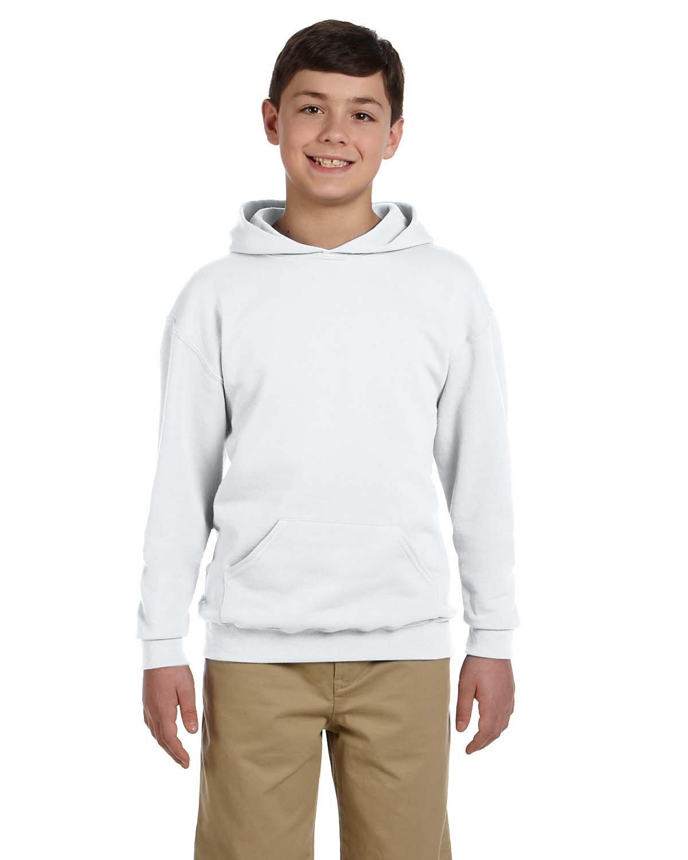 Jerzees Youth NuBlend® Fleece Pullover Hooded Sweatshirt ASH