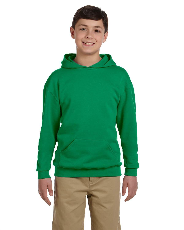 Jerzees Youth NuBlend® Fleece Pullover Hooded Sweatshirt KELLY