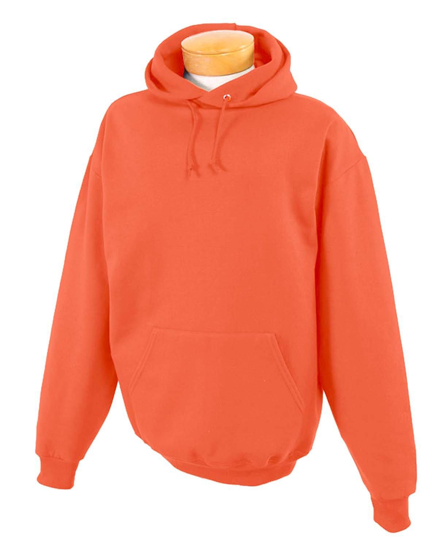 Jerzees Youth NuBlend® Fleece Pullover Hooded Sweatshirt BURNT ORANGE