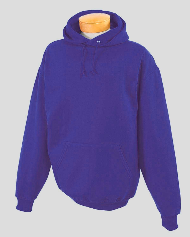 Jerzees Youth NuBlend® Fleece Pullover Hooded Sweatshirt DEEP PURPLE