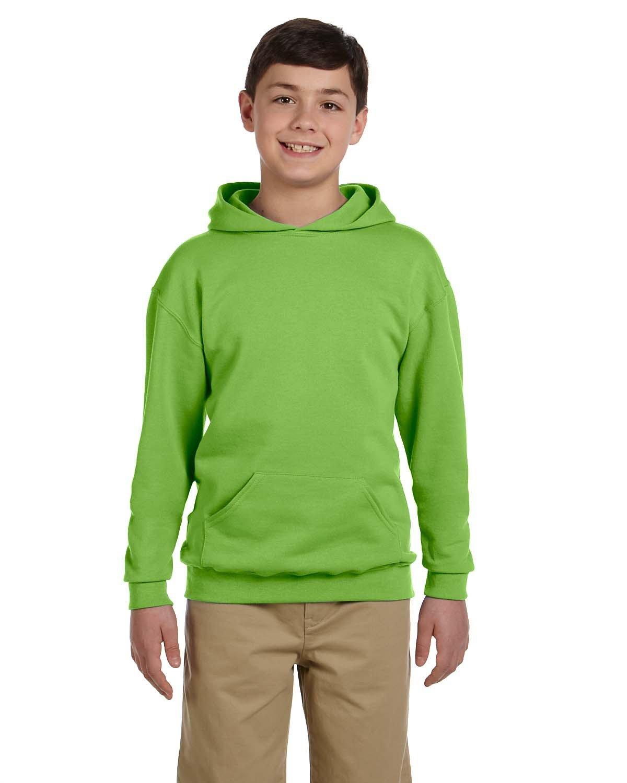 Jerzees Youth NuBlend® Fleece Pullover Hooded Sweatshirt KIWI