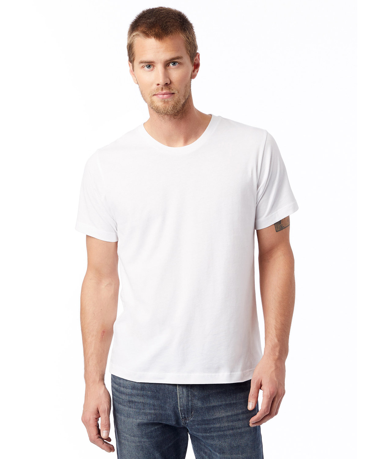 Alternative Unisex Go-To T-Shirt WHITE