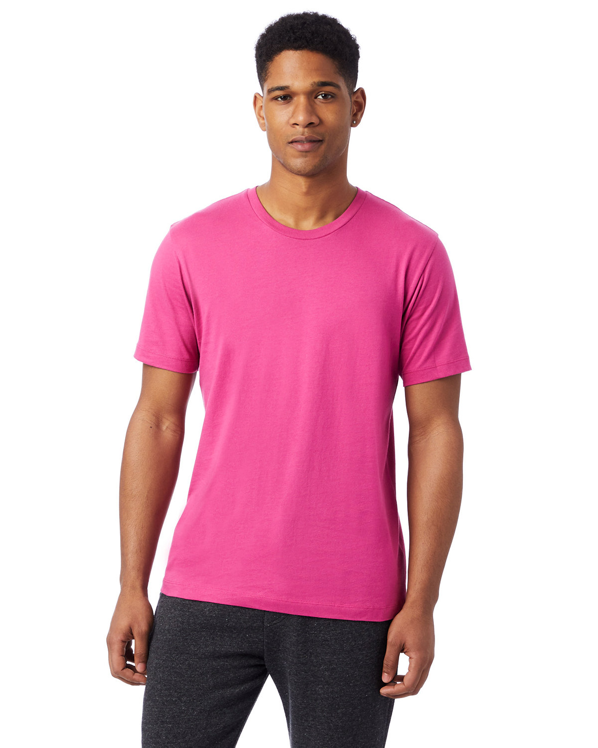 Alternative Unisex Go-To T-Shirt BERRY PINK