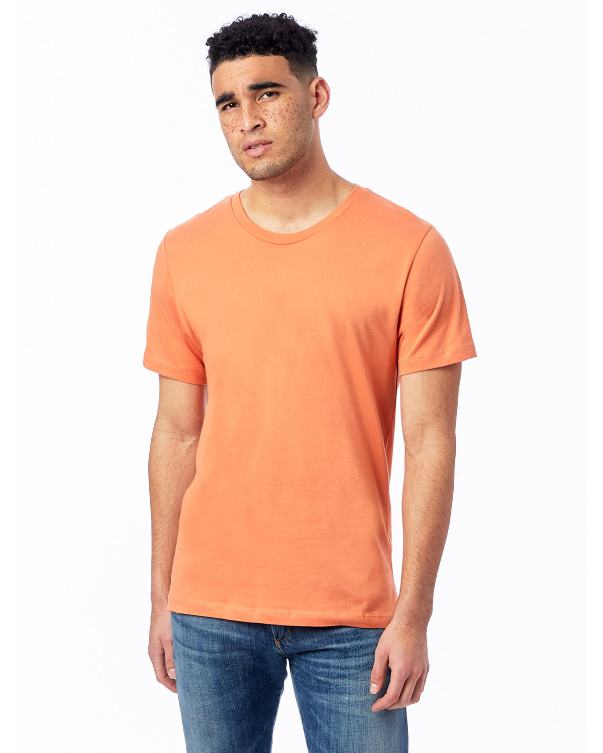 Alternative Unisex Go-To T-Shirt PUMPKIN