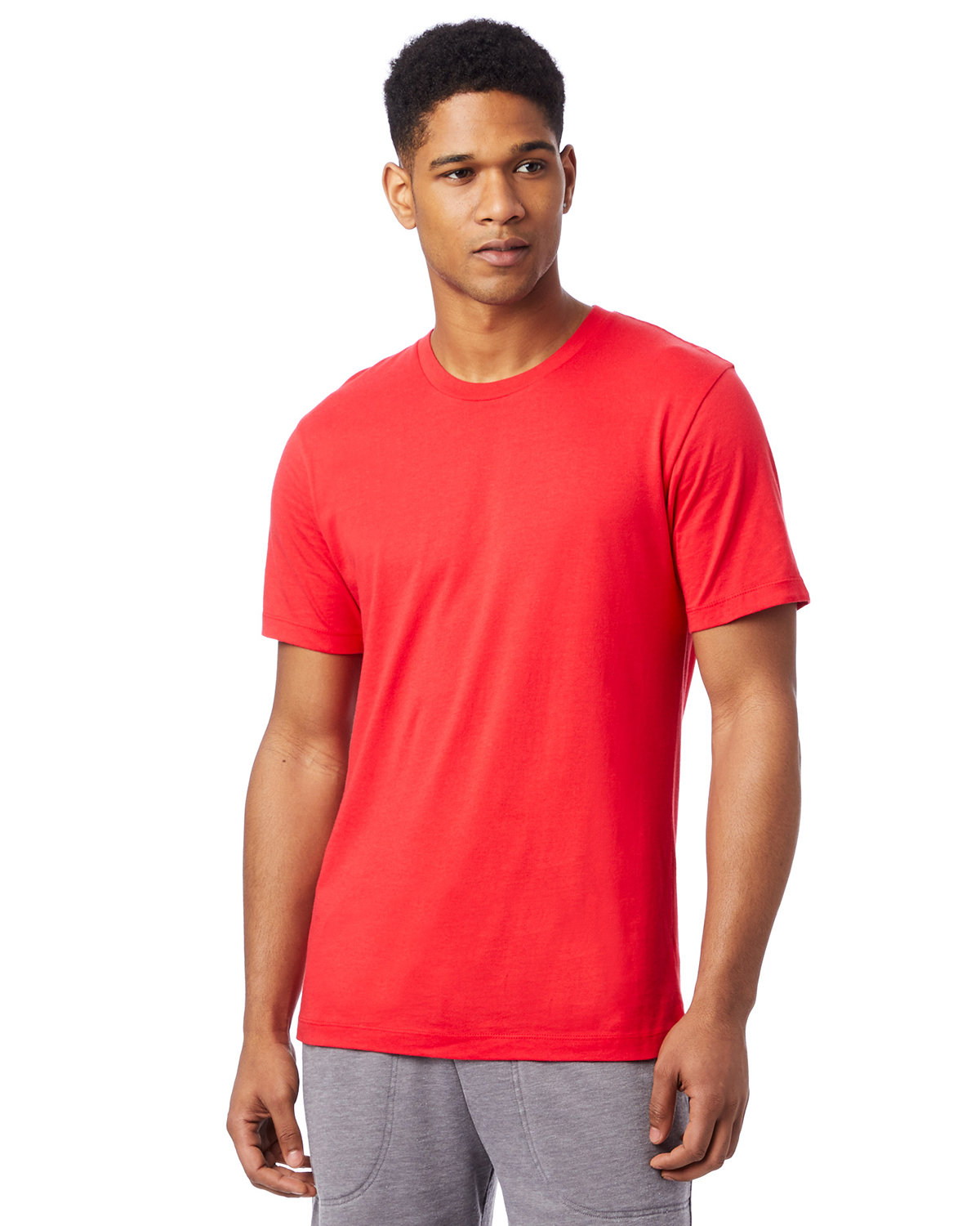 Alternative Unisex Go-To T-Shirt BRIGHT RED