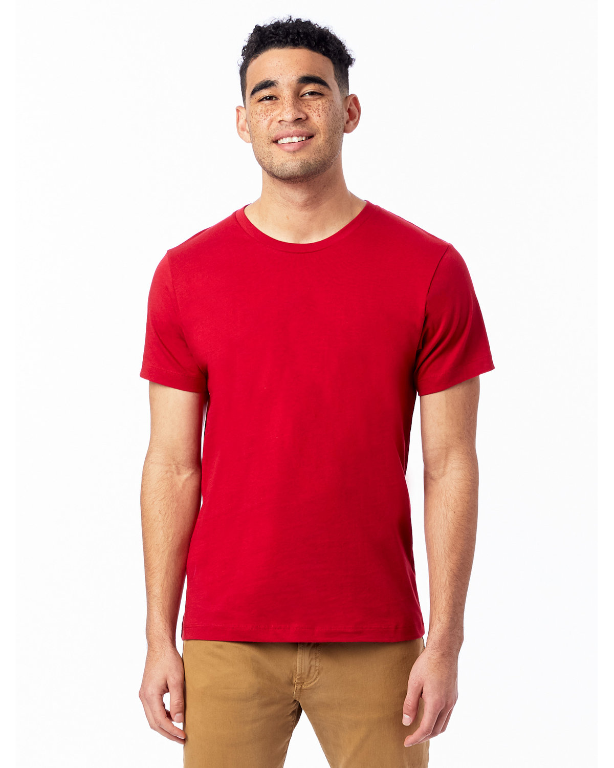 Alternative Unisex Go-To T-Shirt APPLE RED