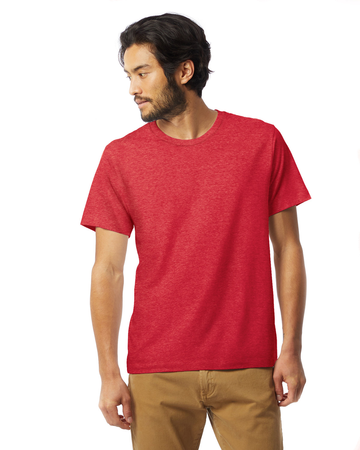 Alternative Unisex Go-To T-Shirt HEATHER RED