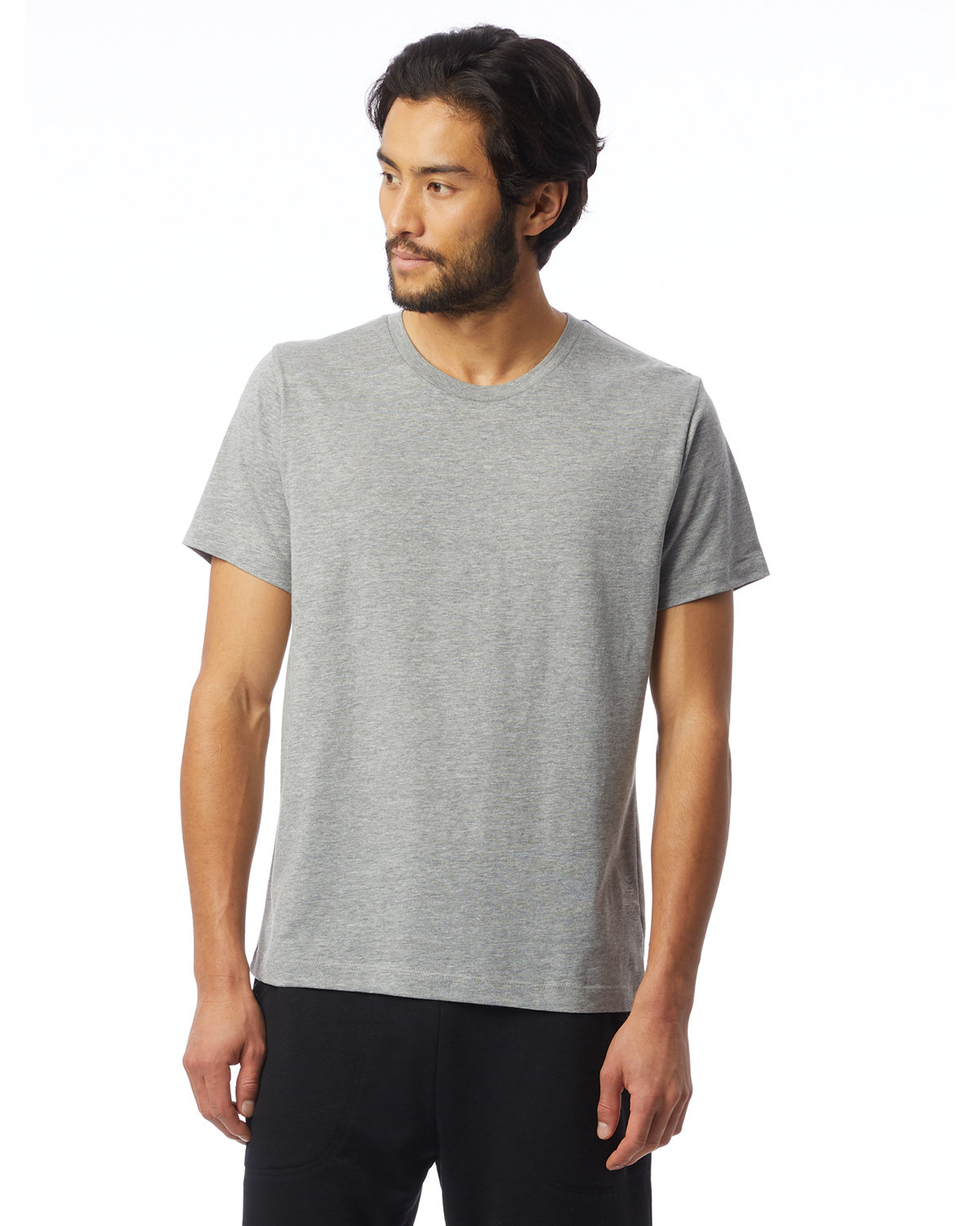 Alternative Unisex Go-To T-Shirt HEATHER GREY