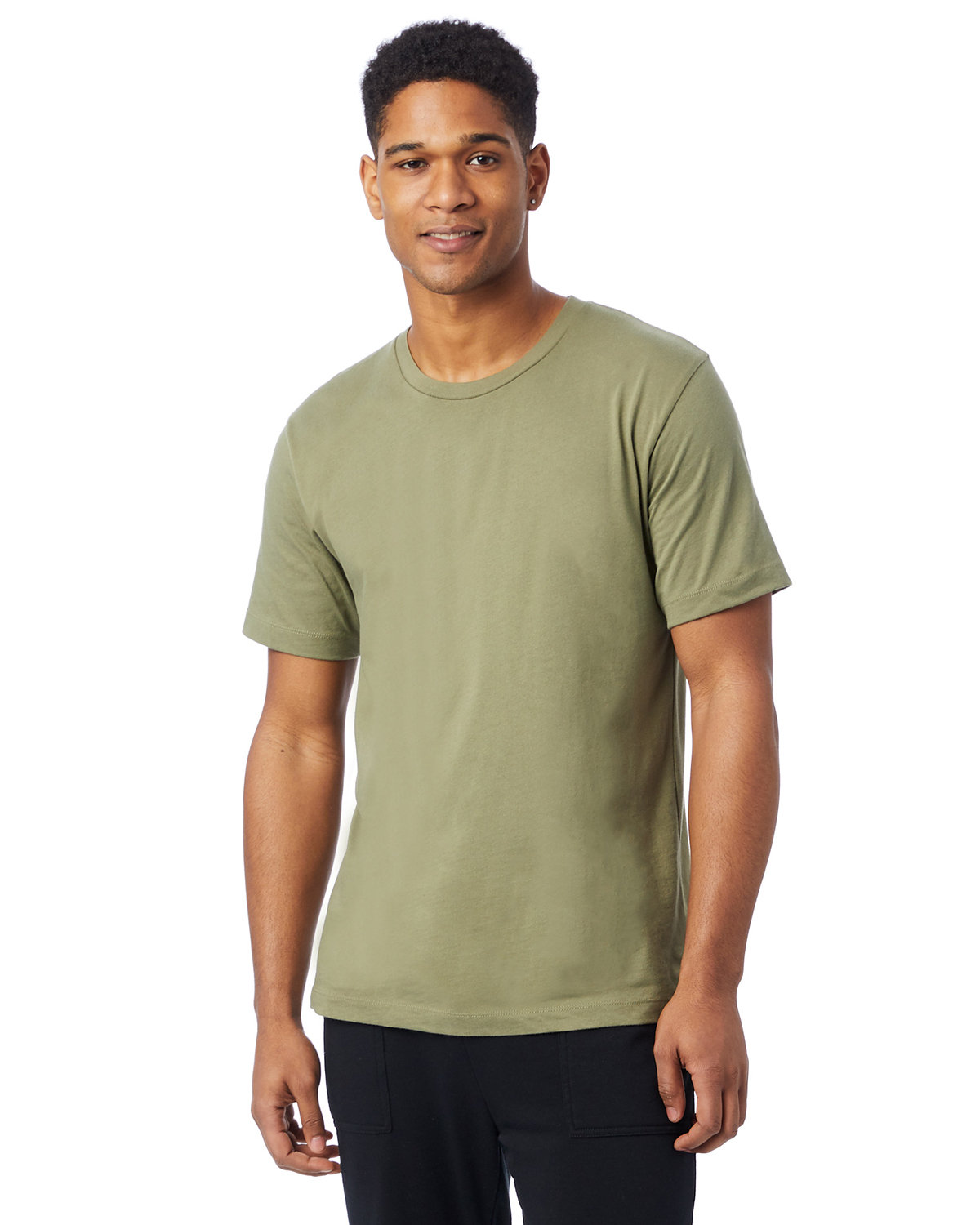 Alternative Unisex Go-To T-Shirt MILITARY