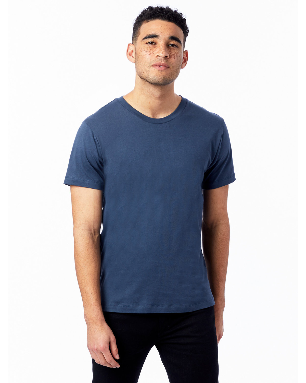 Alternative Unisex Go-To T-Shirt LIGHT NAVY