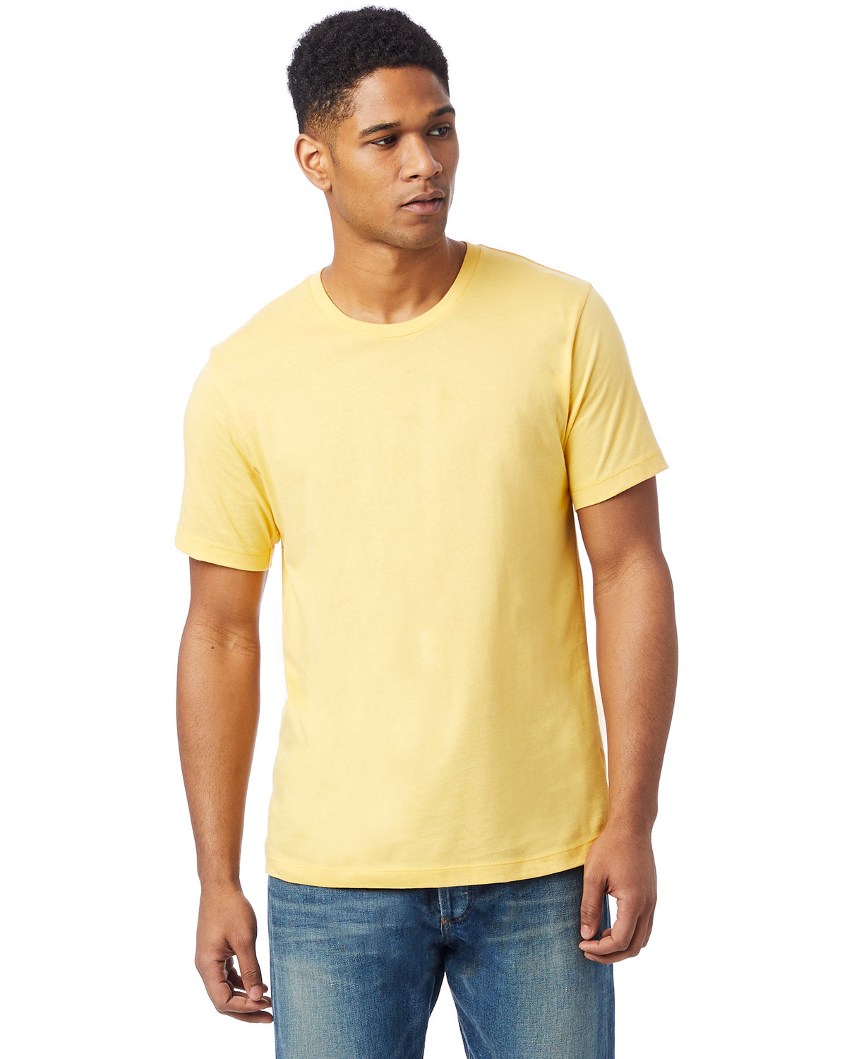 Alternative Unisex Go-To T-Shirt SUNSET GOLD