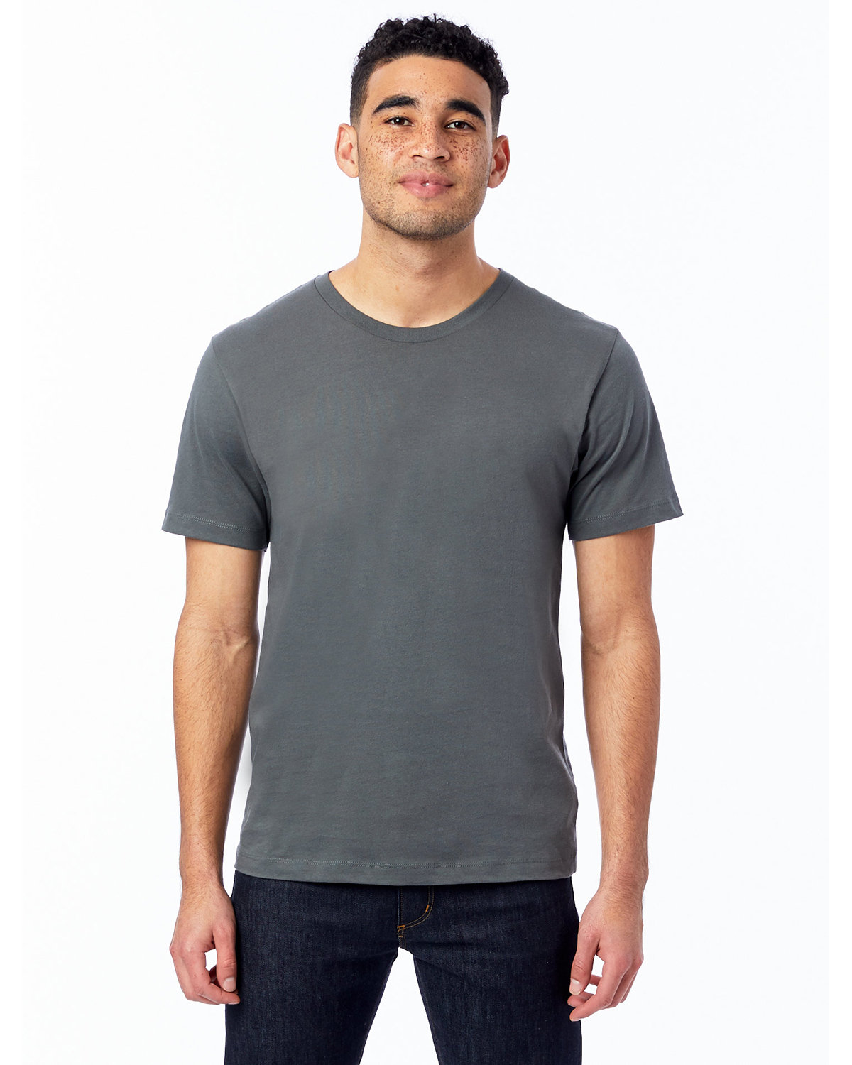 Alternative Unisex Go-To T-Shirt ASPHALT