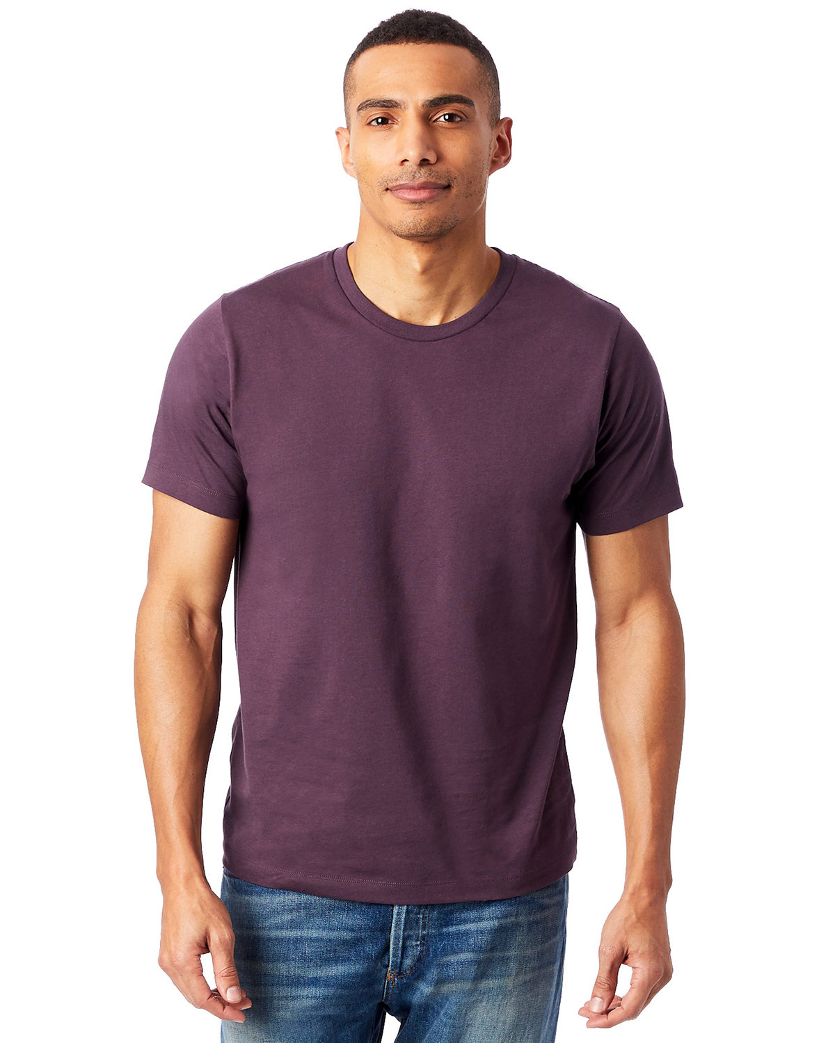 Alternative Unisex Go-To T-Shirt DARK PURPLE