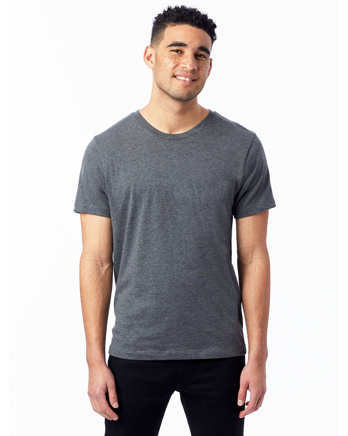 Alternative Unisex Go-To T-Shirt DARK HEATHR GREY